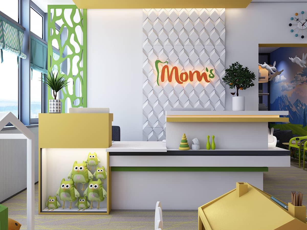детская стоматология Mom's на Позняках (Интерьер)